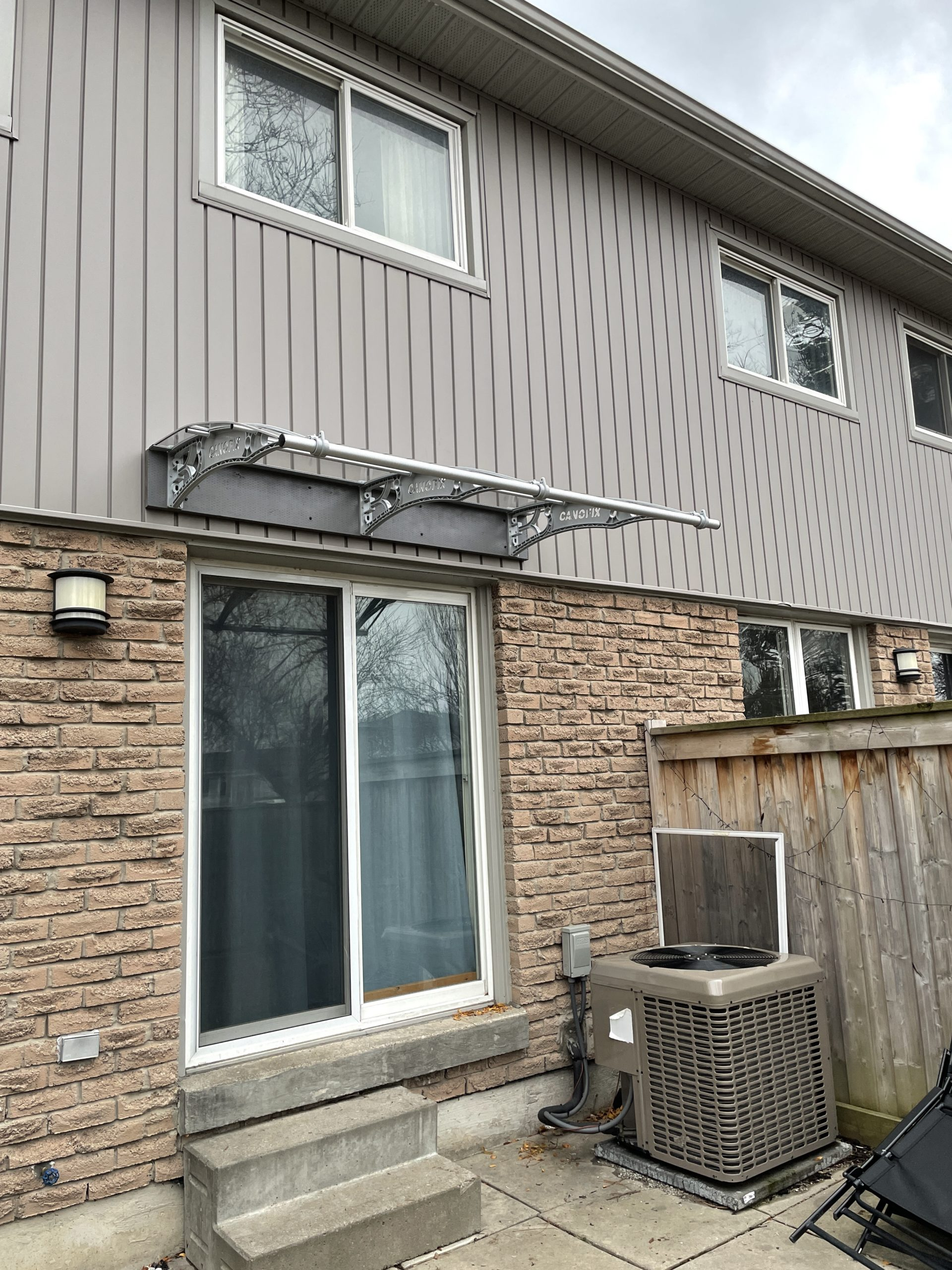 Back Door Awning Canopy