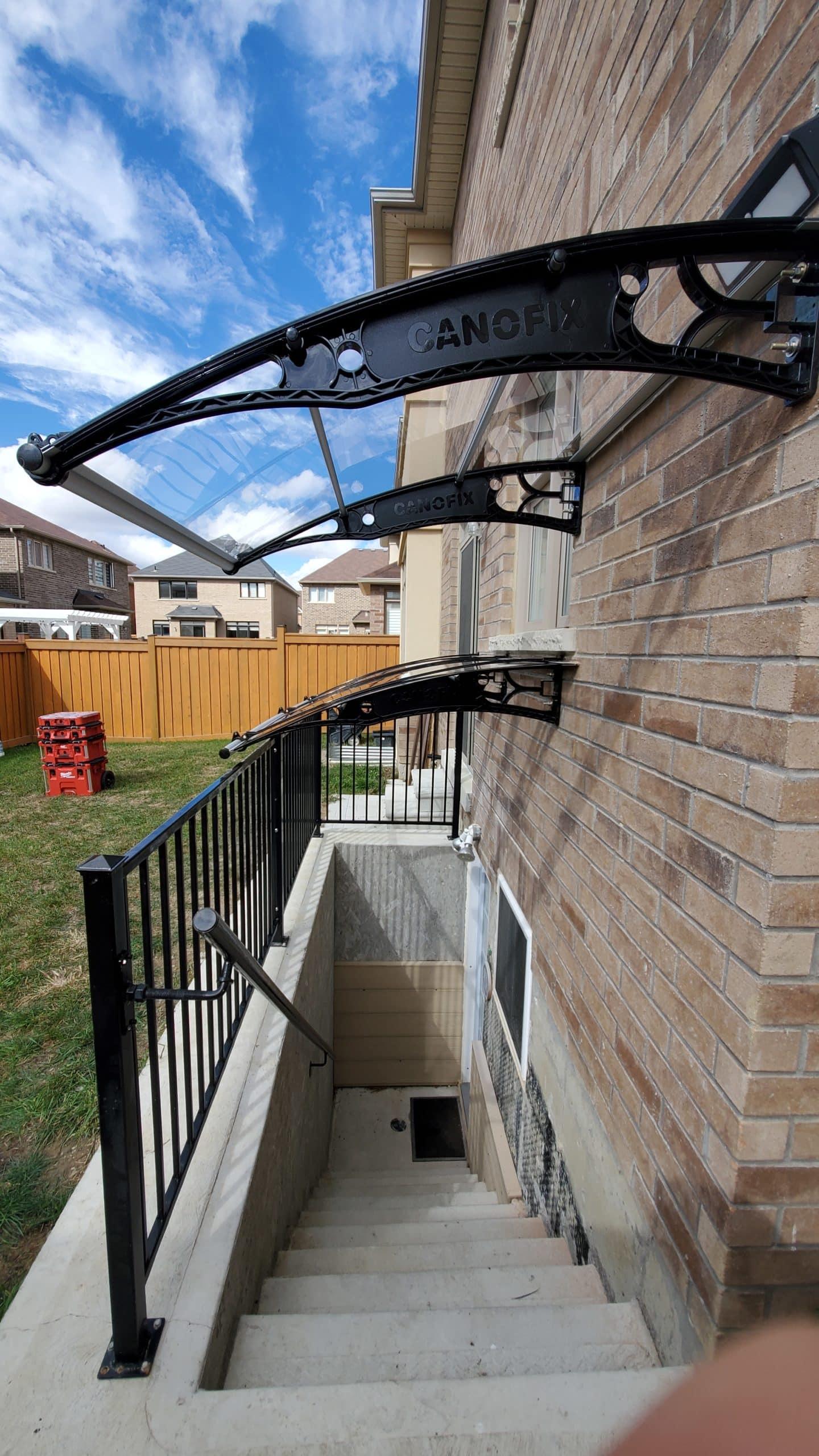 Basement Entrance Awning Canopy