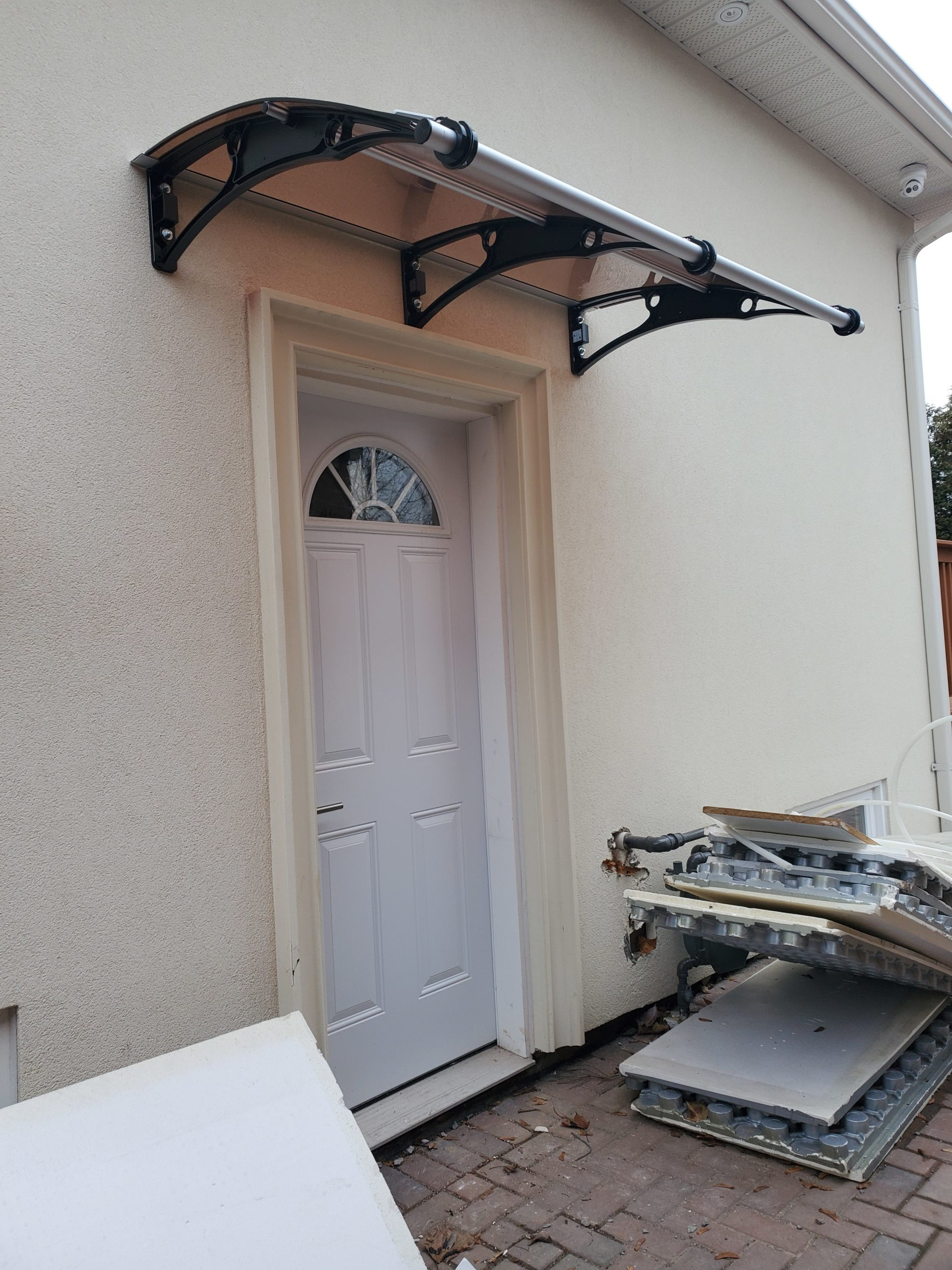 Side Door Awning Canopy